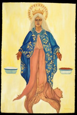 La Virgen de Arroz y Habichuelas | The Virgin of Rice And Beans